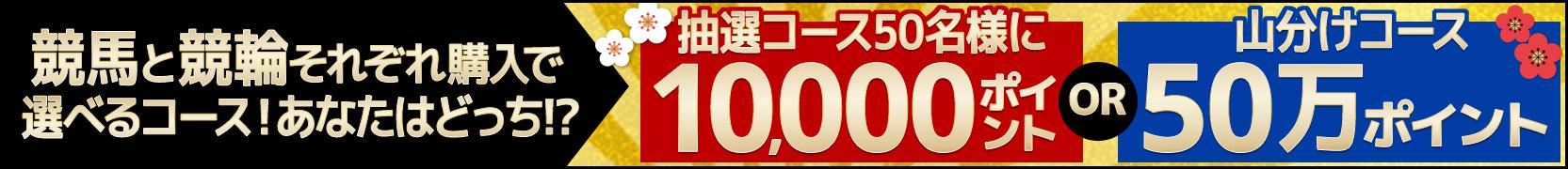 競馬&競輪 共同キャンペーン(2019年1月)