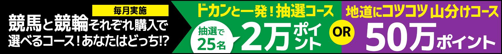 競馬&競輪 共同キャンペーン(2019年3月)