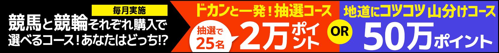 競馬&競輪 共同キャンペーン(2019年4月)