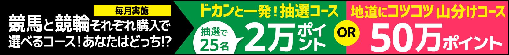 競馬&競輪 共同キャンペーン(2019年5月)