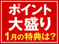 ポイント大盛りプログラム(2019年1月)