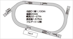 高知競馬場:レースコース